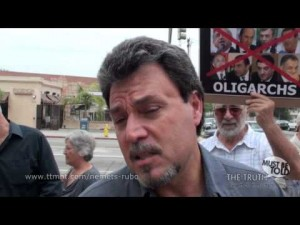 Protest to Prosecute Nemets Rubo in Glendale, CA