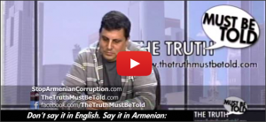 "Armenian Corruption & ""Hayastan"" All-Armenian Fund - 2"