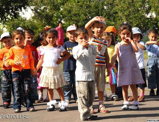 Armenia -- Children at an orphana