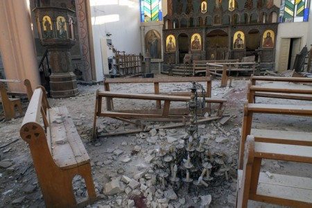 An Armenian Church after bombing (© Vatican Insider)
