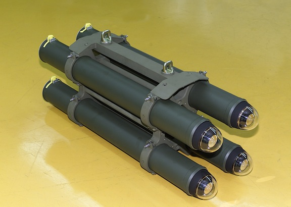 Israeli anti-tank laser missiles (photo from asbarez.com)