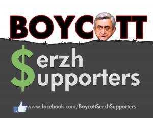 Boycott Serzh Supporters