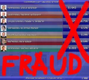 Բողոք ընտրախախտումների դեմ / Protest Against Election Fraud