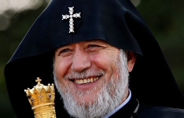 Catholicos Garegin II (Photo by Win McNamee/Getty Images)