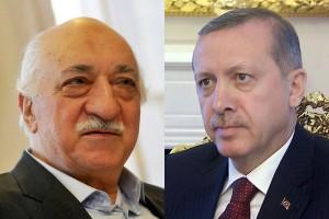 Fethullah Gülen and Recep Tayyip Erdoğan (photo © eurasianet.org)