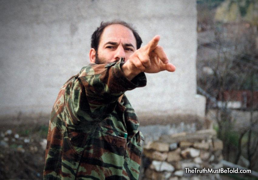 Monte Melkonian... Hunger Strike