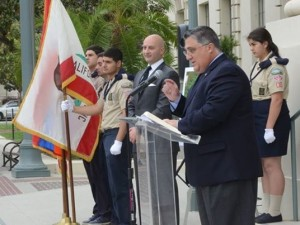 Anthony Portantino, candidate for California State Senate, PAMGC board member (© www.facebook.com/PasadenaGenocideMemorial)