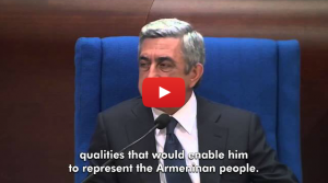(English) Zaruhi Postanjyan Vs. Serzh Sargsyan at PACE
