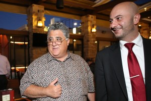 Anthony Portantino with David Gevorkyan at Dinner & Cigars event (from Facebook)