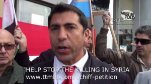 (English) Protest in Los Angeles against Turkey's Involvement in Syrian Conflict
