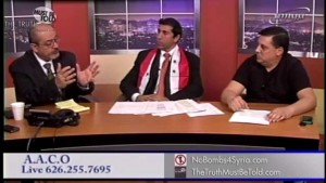 Syrian Crisis, ISIS and U.S. Role: Johnny Achi with AA4Syria & Ara Manoogian with NoBombs4Syria