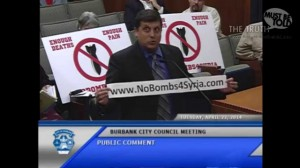 (English) The Armenian Genocide and the Syrian Issue at the Burbank City Council Meeting